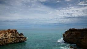 Côte d'océan banque de vidéos