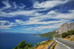 Côte dalmatienne Croatie Photo libre de droits