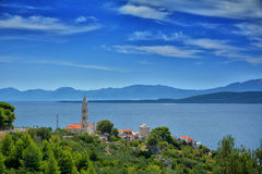 Côte dalmatienne Croatie Images stock