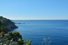 Côte dalmatienne Croatie Photos libres de droits