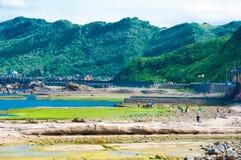 Côte dans Keelung Photos libres de droits