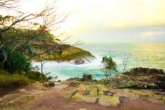 Côte dans l'Australie images libres de droits