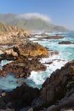 Côte de Big Sur, près de Monterey, la Californie, Etats-Unis Photo stock