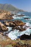 Côte de Big Sur, près de Monterey, la Californie, Etats-Unis Photos stock