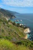 Côte de Big Sur, près de Monterey, la Californie, Etats-Unis Photo libre de droits