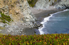 Côte de Bodega photo libre de droits