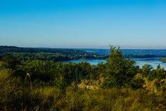 Côte de Dniepr photo stock