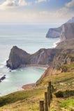 Côte de Dorset image libre de droits