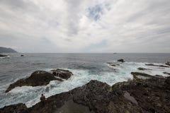Côte de Hualien, Tawian Image libre de droits