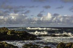 Côte de l'Islande du sud Photo stock