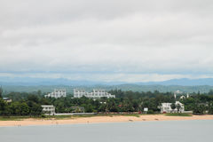 Côte de l'Océan Indien Toamasina, Madagascar Photos libres de droits