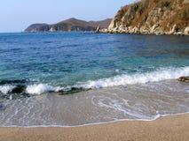 Côte de l'océan pacifique Images libres de droits