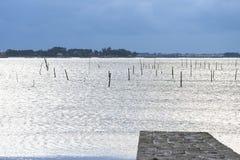 Côte de la Galicie Photo stock