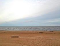 Côte de la mer baltique Image stock