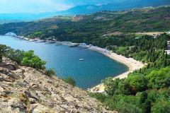 Côte de la Mer Noire Photos libres de droits