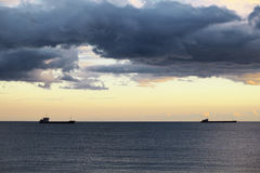 Côte de la Mer Noire Photo libre de droits