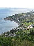 Côte de la Mer Noire de montagne Photographie stock libre de droits