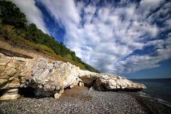 C?te de la Mer Noire du Caucase photos stock