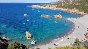 Côte de la Sardaigne Image libre de droits
