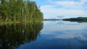 Côte de lac Photo stock