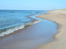 Côte de mer baltique Photo stock