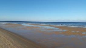 Côte de mer baltique Photos stock