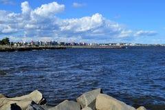 Côte de Montevideo, Uruguay Image stock
