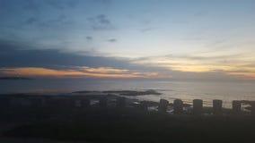 Côte de Moray de Lossiemouth Image libre de droits