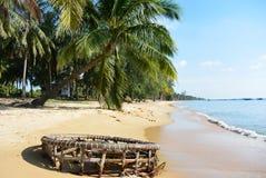 Côte de plage Photographie stock libre de droits