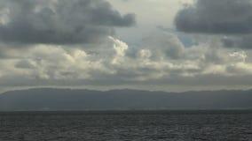 Côte de région de San Francisco Bay banque de vidéos
