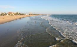 Côte de Santa Monica Photos libres de droits