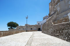 Côte de Tanger, Tanger, Tanger, Maroc, Afrique, Afrique du Nord, le Maghreb, détroit du Gibraltar, la mer Méditerranée, l'Océan A Photos stock