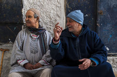 Côte de Tanger, Tanger, Tanger, Maroc, Afrique, Afrique du Nord, le Maghreb, détroit du Gibraltar, la mer Méditerranée, l'Océan A Image stock