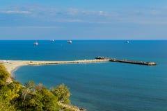 Côte de Varna Photos libres de droits