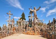 Côte des croix Image libre de droits