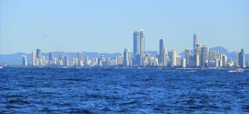 Côte des surfers paradis, la Gold Coast Image stock