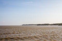 Côte du fleuve Amazone Photographie stock libre de droits