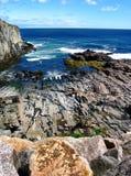 Côte du Maine Photographie stock libre de droits