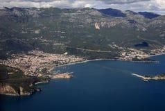 Côte du Monténégro Image stock