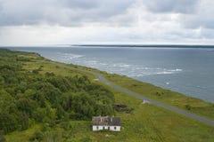 Côte du nord de l'Estonie Images stock