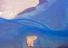 Côte du Qatar Photographie stock libre de droits