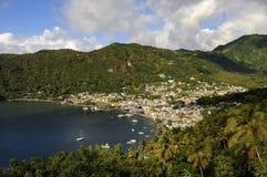 Côte du St Lucia Photos libres de droits