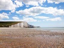 Côte du sud de l'Angleterre Photo libre de droits