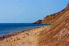 Côte du sud de la Crimée Images stock