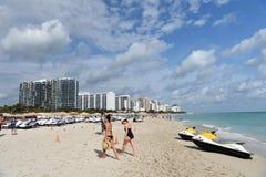Côte du sud de plage Images libres de droits