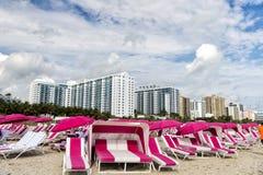 Côte du sud de plage Image libre de droits