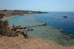 Côte en Egypte La Mer Rouge photo libre de droits