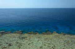 Côte en Egypte La Mer Rouge photo stock