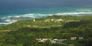 Côte Est des Barbade, des Caraïbes Images stock