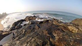 Côte et vague et océan de tropiques, clips vidéos